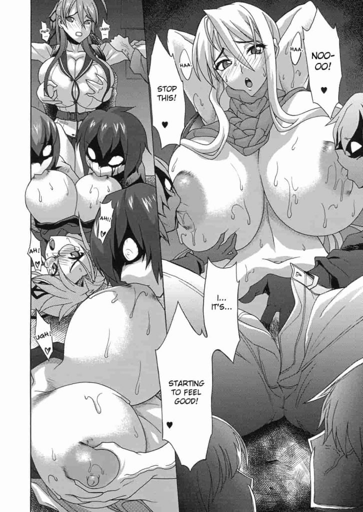 highschool of the dead porn comic