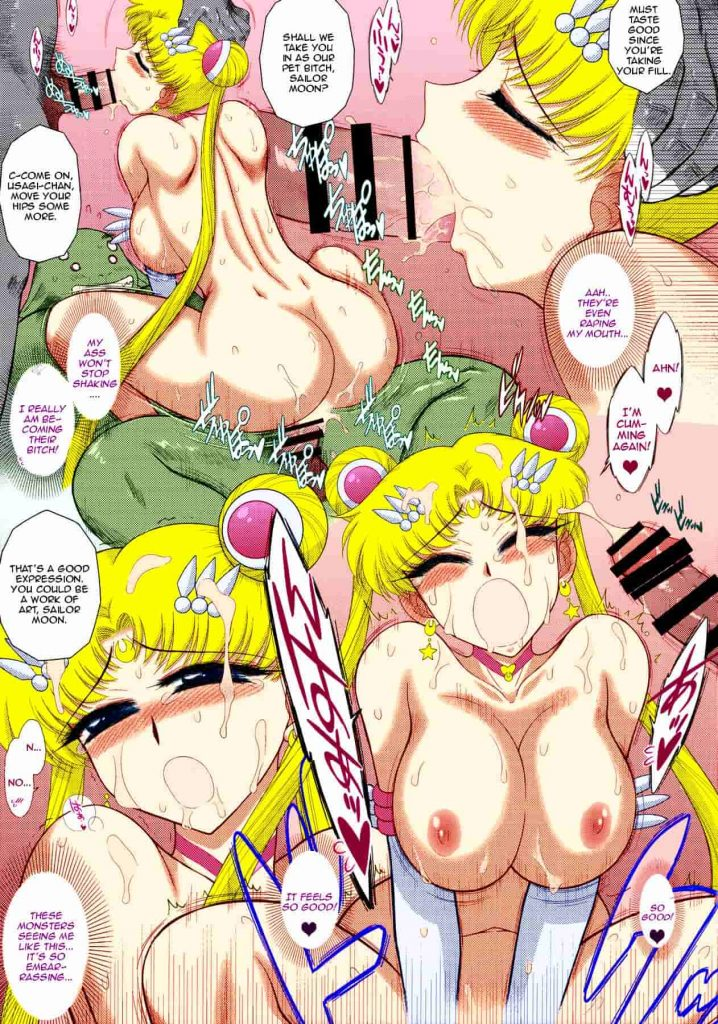 sailor moon hentai comic