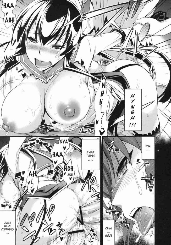 Highschool of the Dead hentai Comic